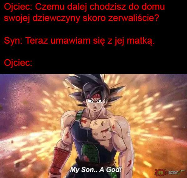 Mój syn to Bóg!