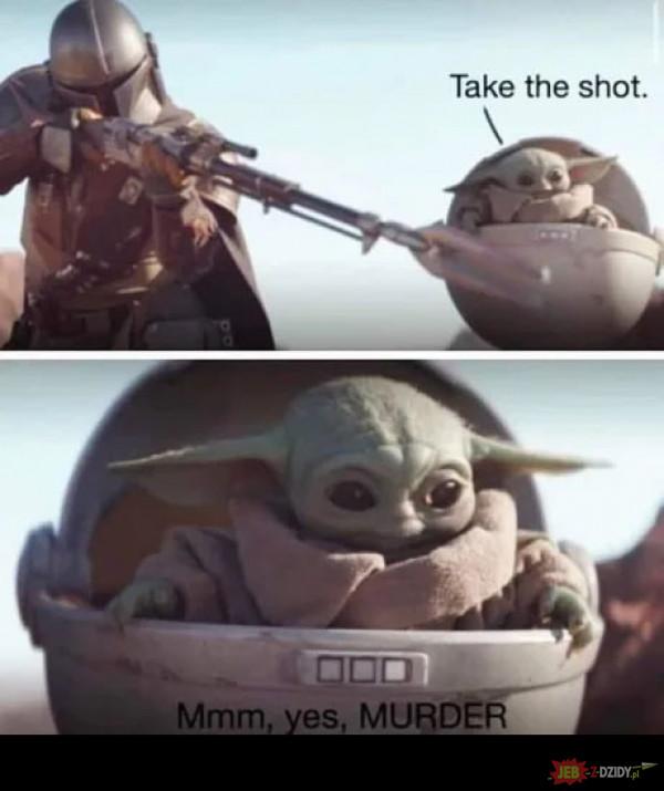No dalej, strzelaj!
