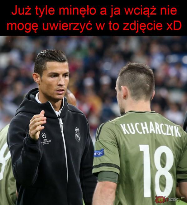 Kucharczyk i Ronaldo xD