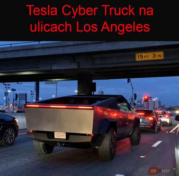 Cybertruck w Los Angeles