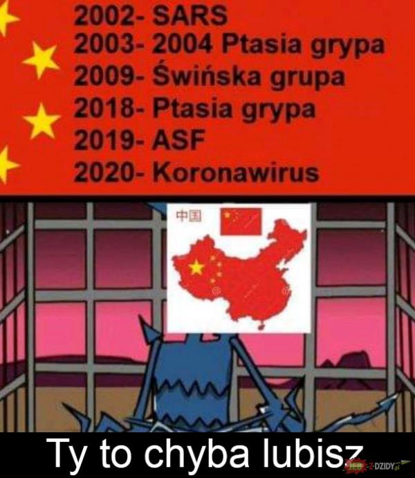 Chiny to lubią