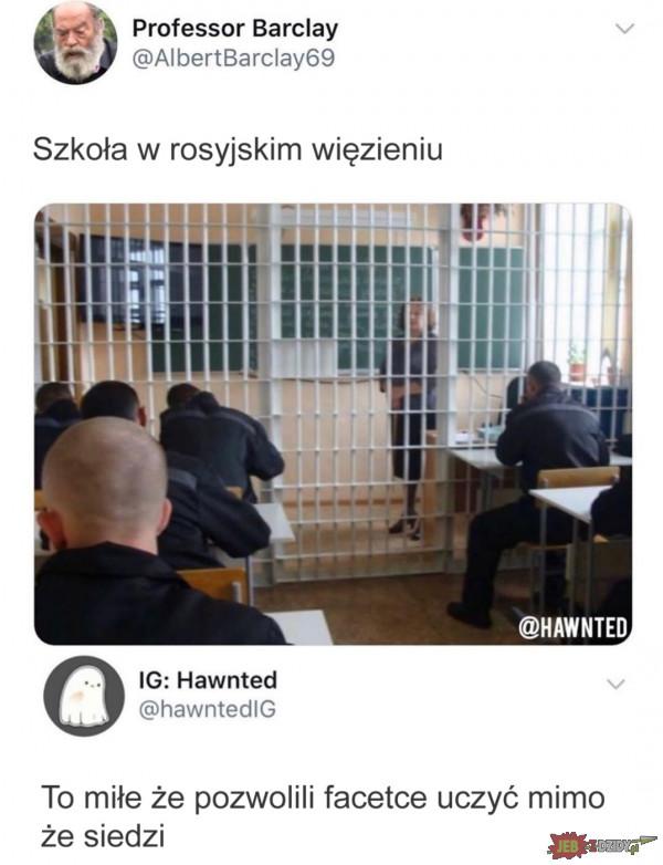 Więzienna szkoła