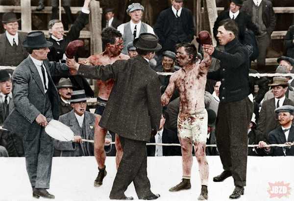 Walka Bokserska z 1913 roku.
