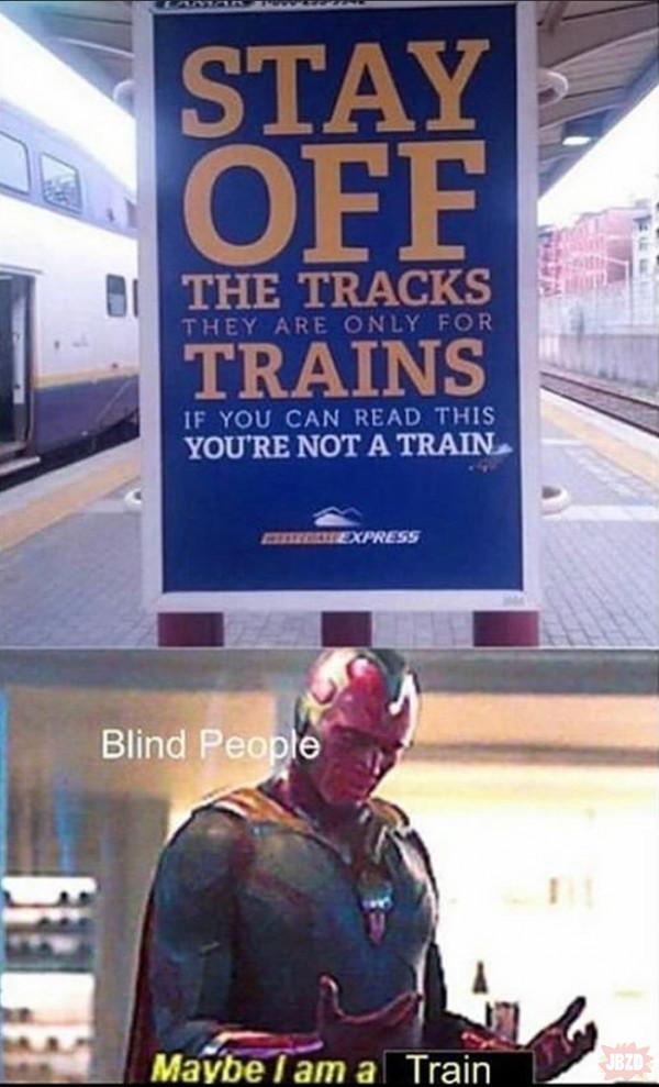 Jestem pociągiem