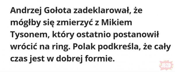 Chyba to lubisz Andrzej