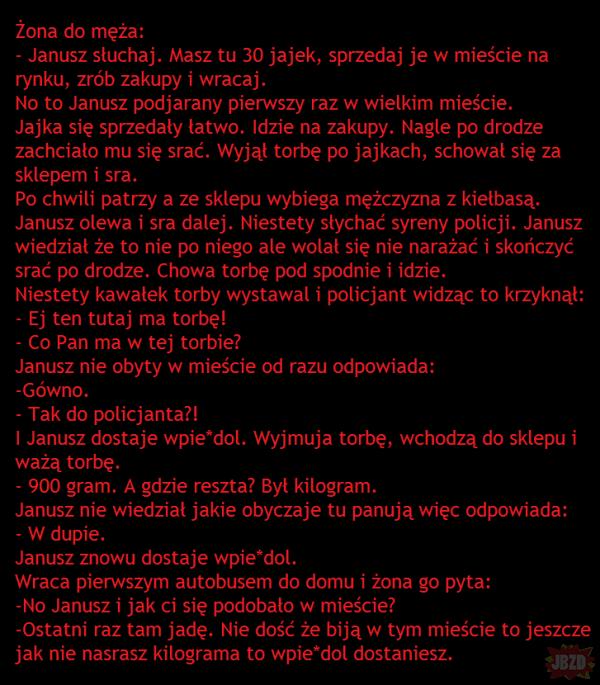 Janusz w mieście
