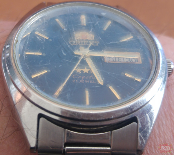 popatrzałem się na nowy i stary zegarek - jest pytanie