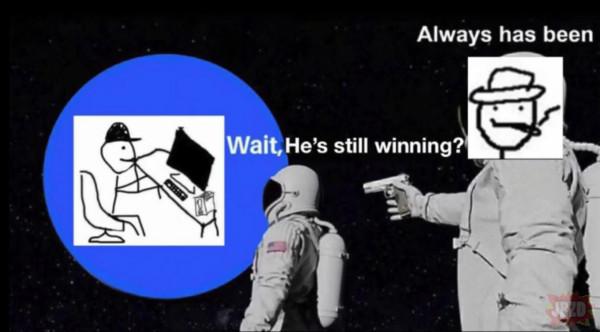 Are ya winning son?