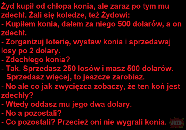 Loteria z koniem