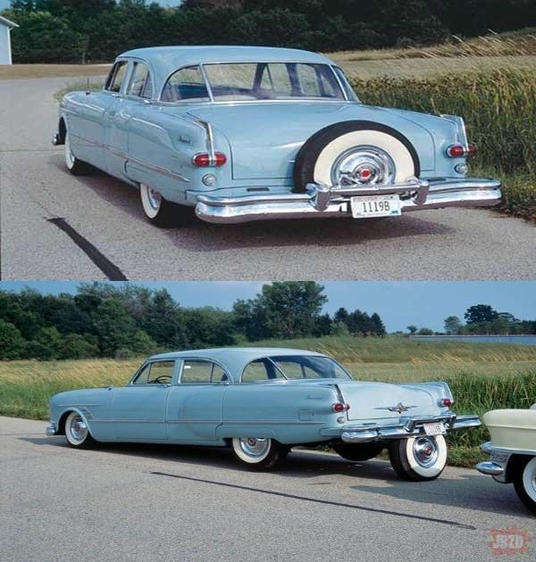 System parkowania z lat 50.