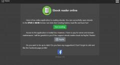 E-book reader online - free MOBI reader