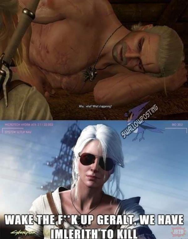 Wstawaj Geralt