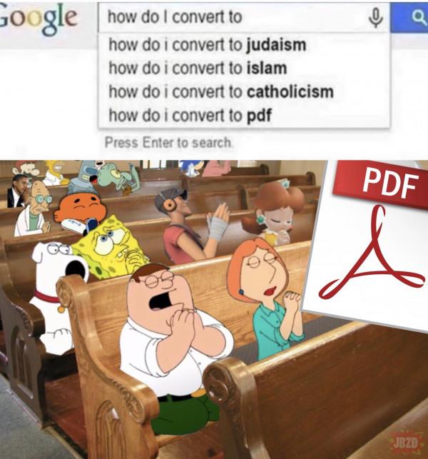 Problem z PDF