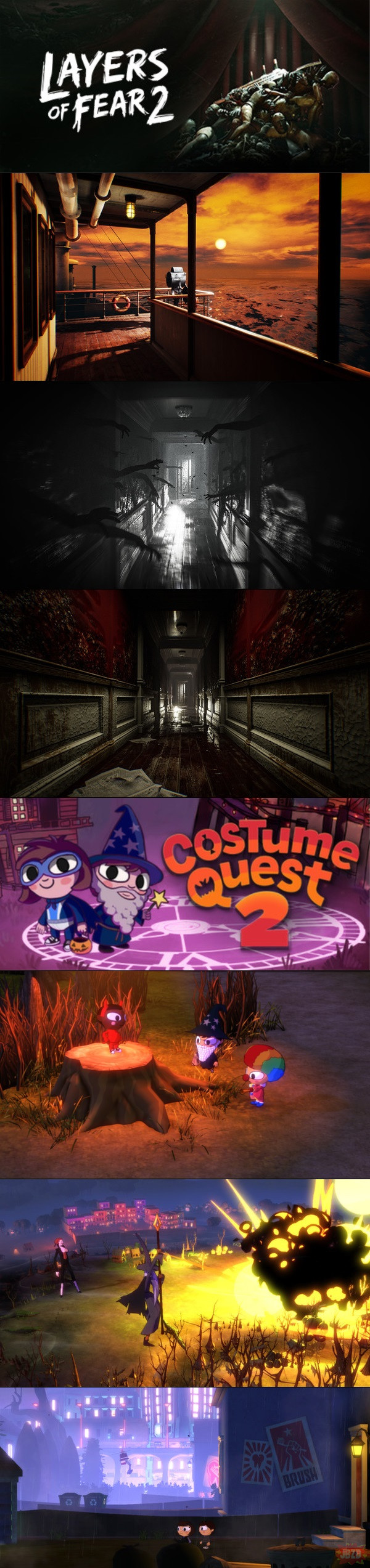 Layers of Fear 2 i Costume Quest 2 za darmo w epic games store