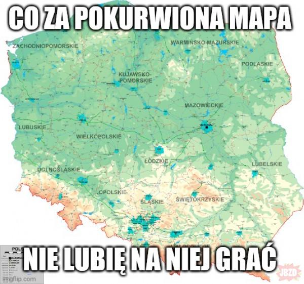 Dziwna mapa