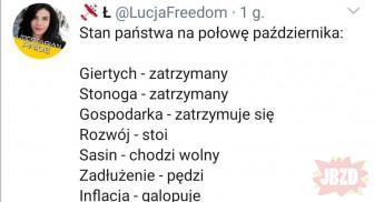 Trzymajta się w tej Polsce
