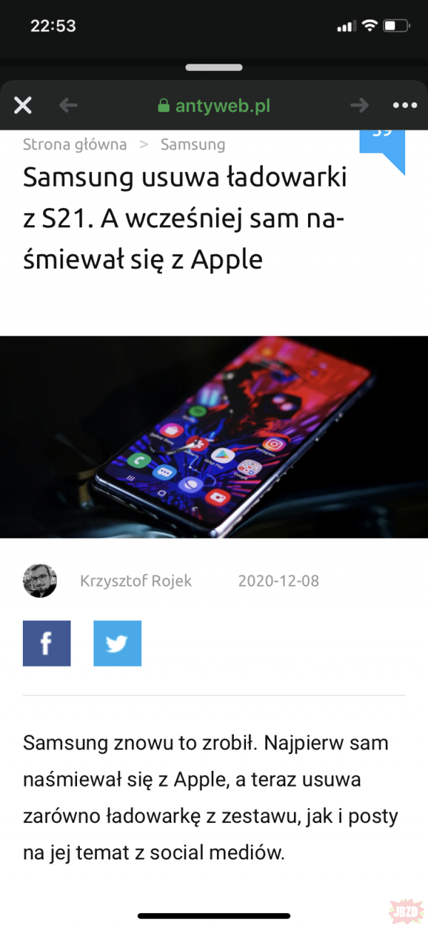 Co tam fanboje androidów?