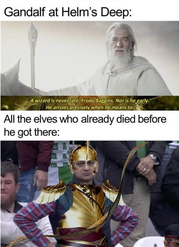 Czas elfów przeminął