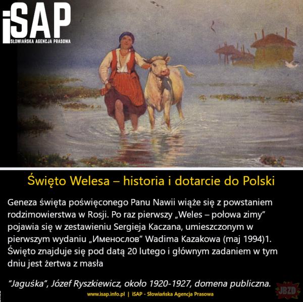 [fragment artykułu] Geneza święta Welesa. Jak dotarło do Polski?
