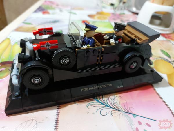 Mercedes Cobi  + dodatek z aliexpress