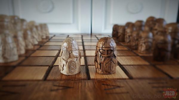 Piony szachowe.