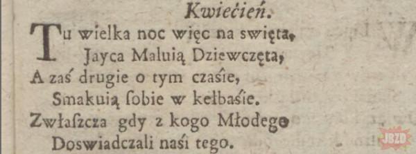 Kalendarz gdański 1753