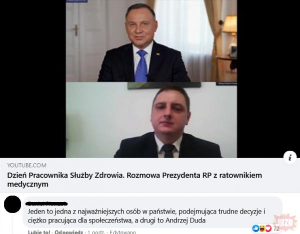 Duda vs Ratownik