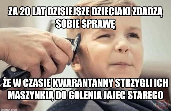 Covidowe fryzury