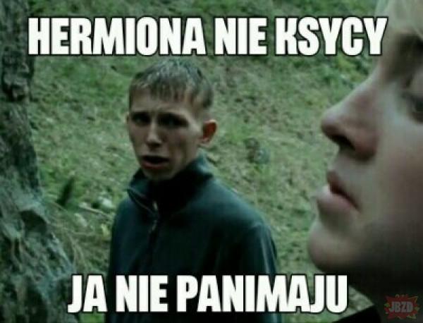 Hermiona, spokojnie