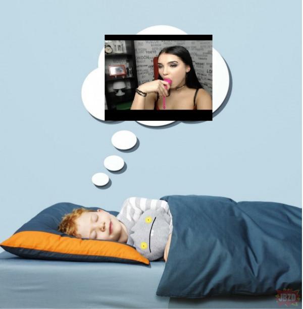 Mokry sen dzieci spełniony