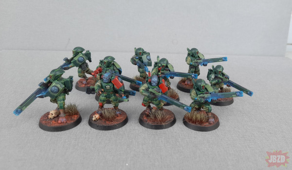 Squad of firre warriors Tau