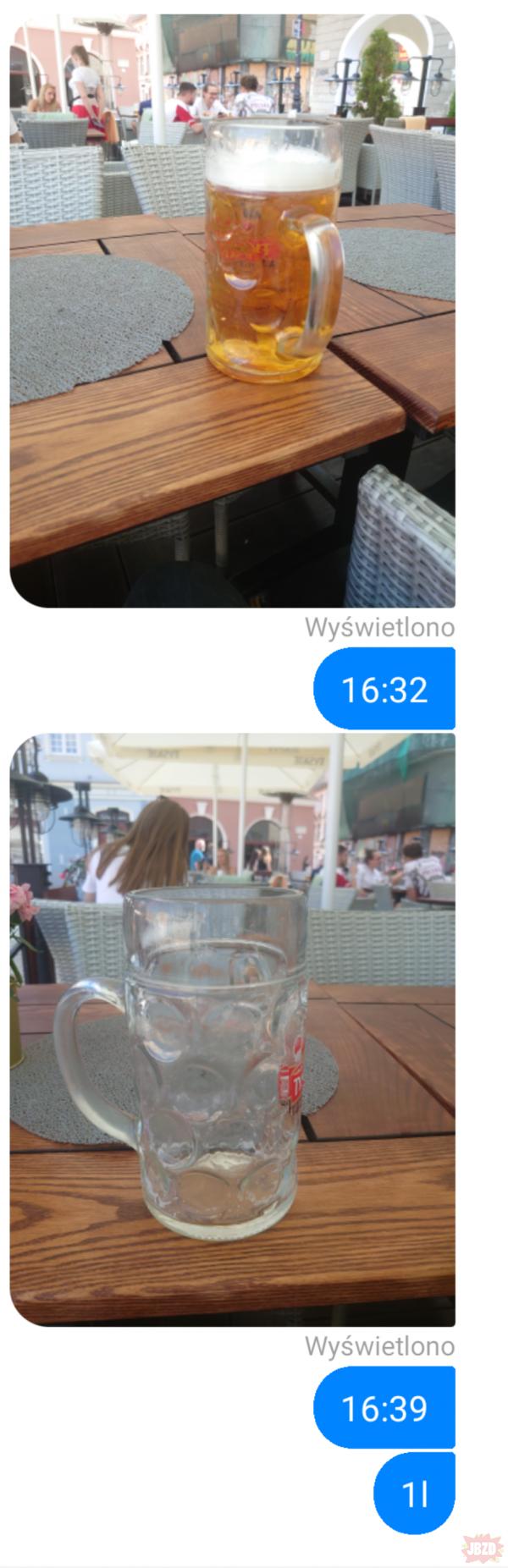 """Piwo 14 dniowe z """"tanka"""""""
