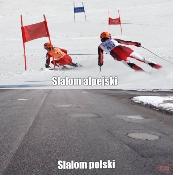 Slalom polski
