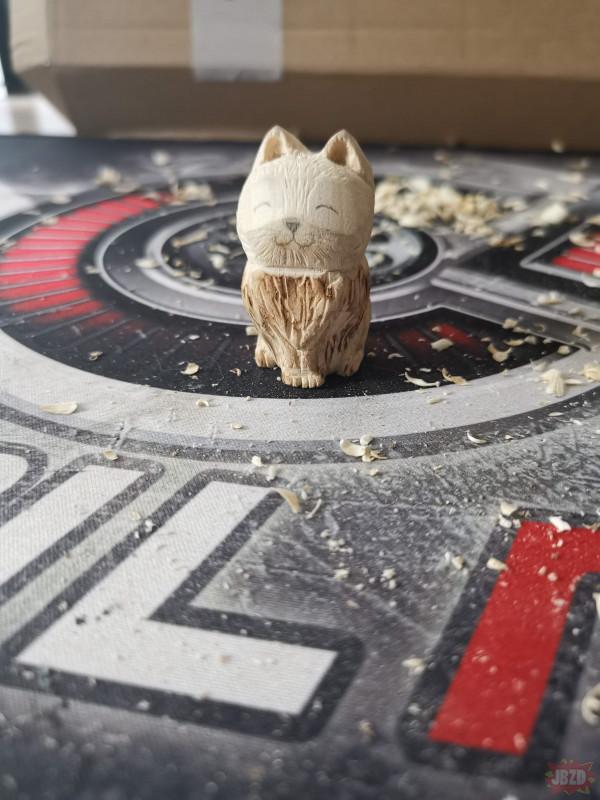 Struganie #4 kotek