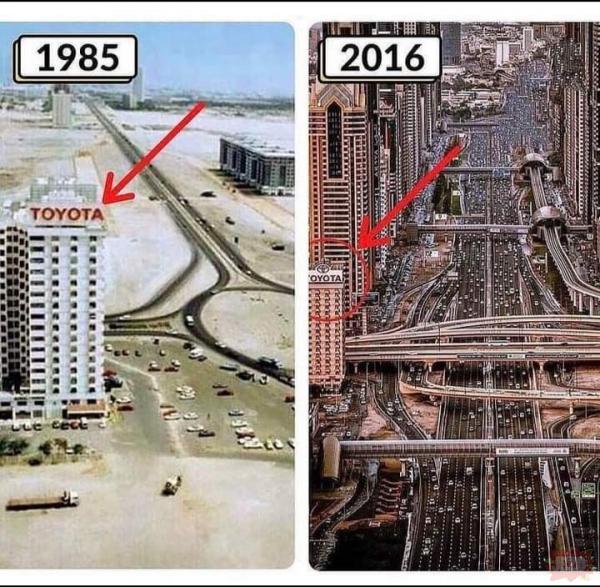 Ewolucja Dubaju
