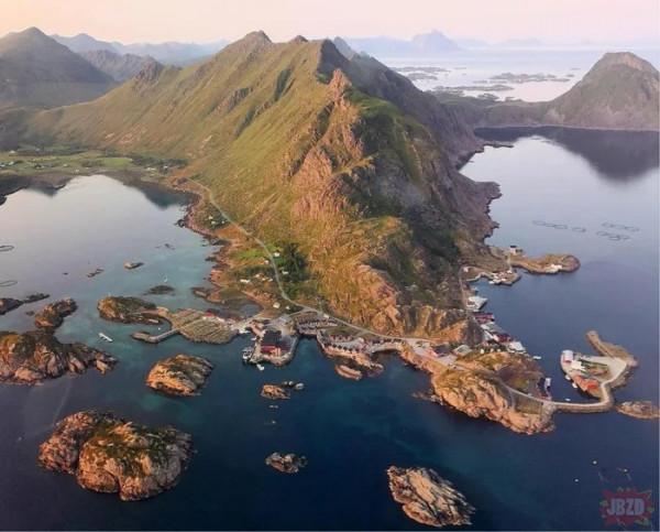 Wyspa Lofoten w Norwegii