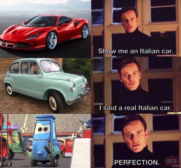 Włoskie auto