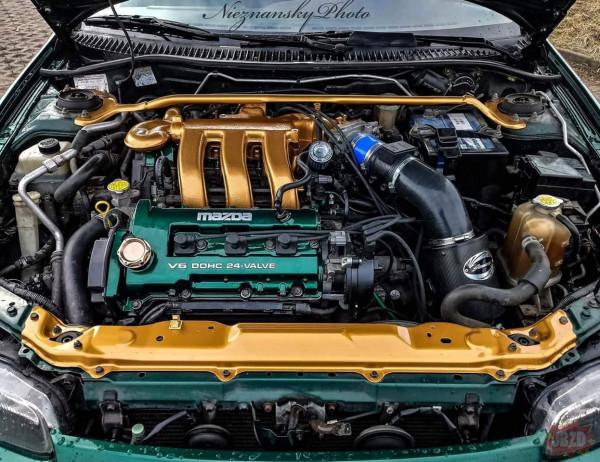 Mazda 323F BA 2.0v6 cz. 2 :)