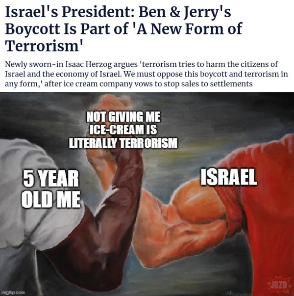 To już nawet nie antysemityzm, to już terroryzm!