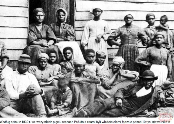 USA: Czarnoskórzy też mieli niewolników./ Super artykuł - polecam