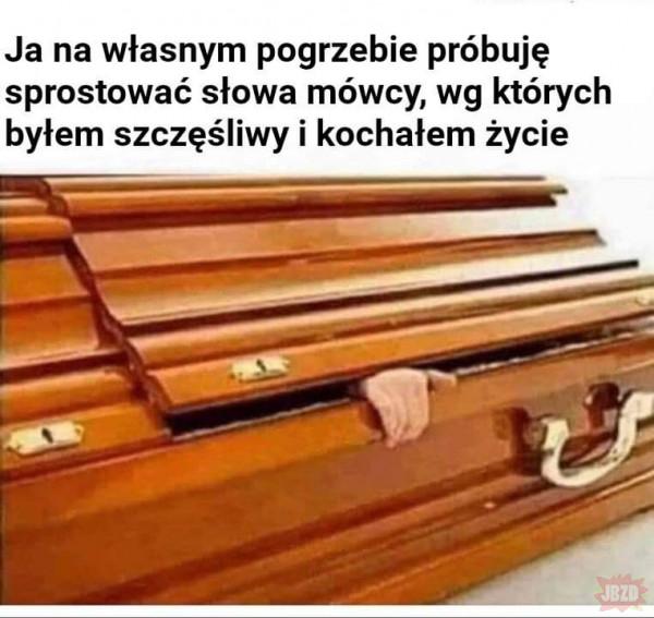 Pogrzeb też impreza
