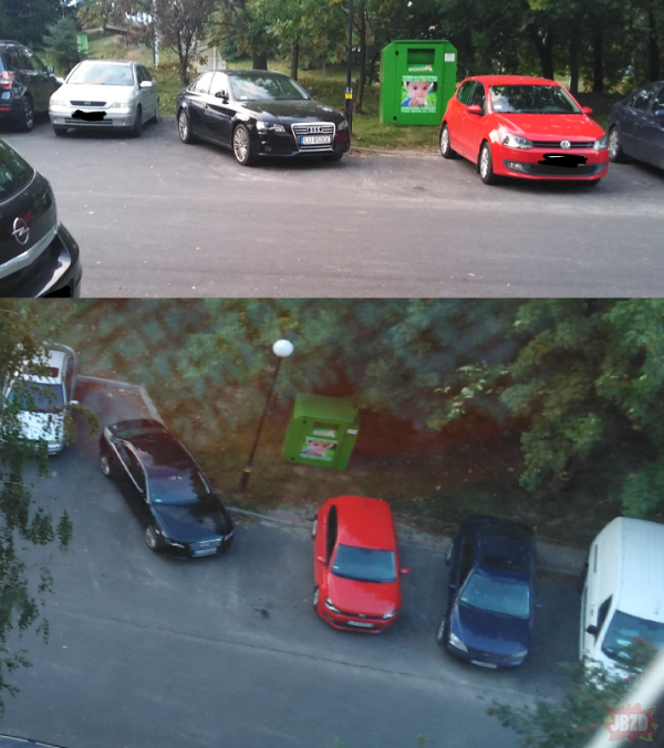 """Karny Kutas dla """"Pana"""" z czarnego Audi LU-850GK"""