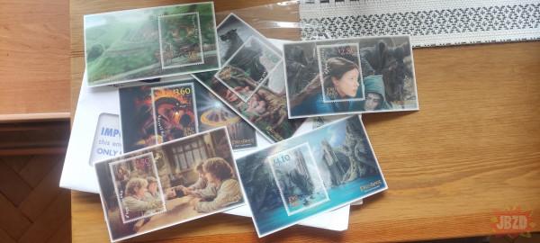 Moje znaczki z Lotra już są :-)