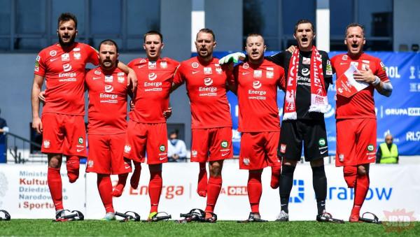 Polska reprezentacja w AMP Footballu pokonuje Izrael 8:0!!!!