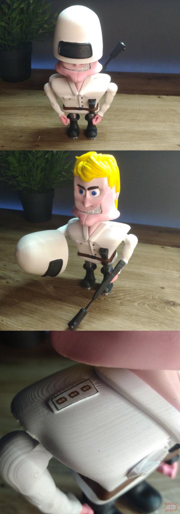 Kapitan Bomba na drukarce 3D