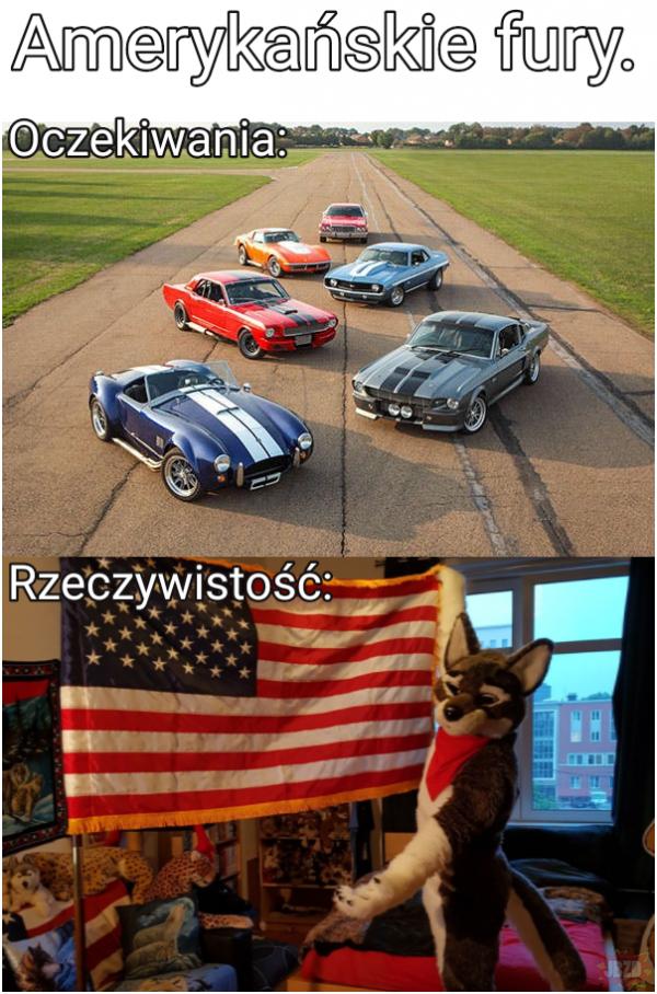 Amerykańskie fury